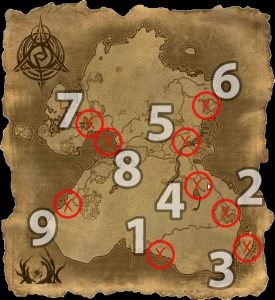 ESO Psijic's Order Summerset Time Breach Map