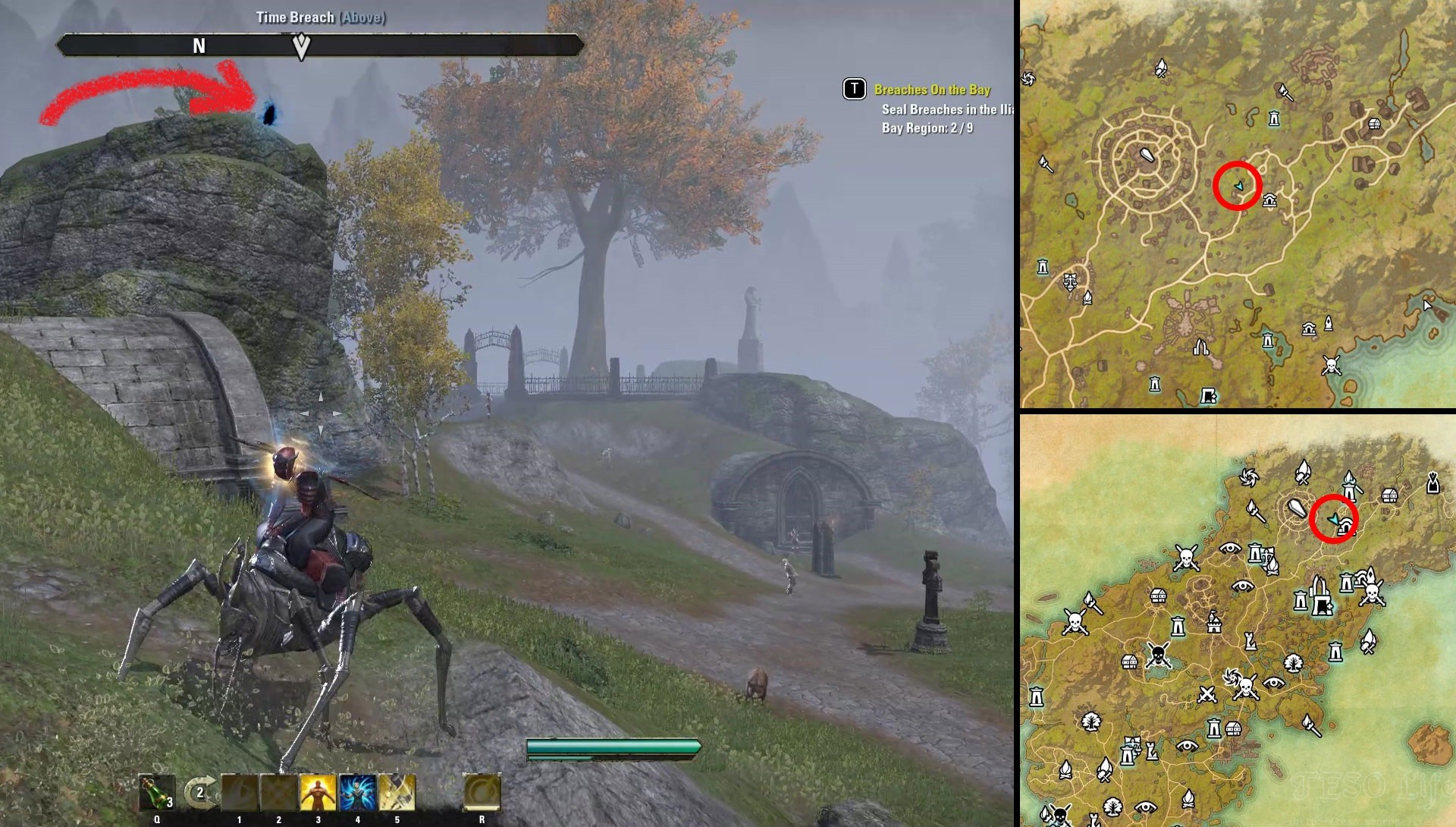 ESO Summerset Breaches on the Bay Glenumbra Locations