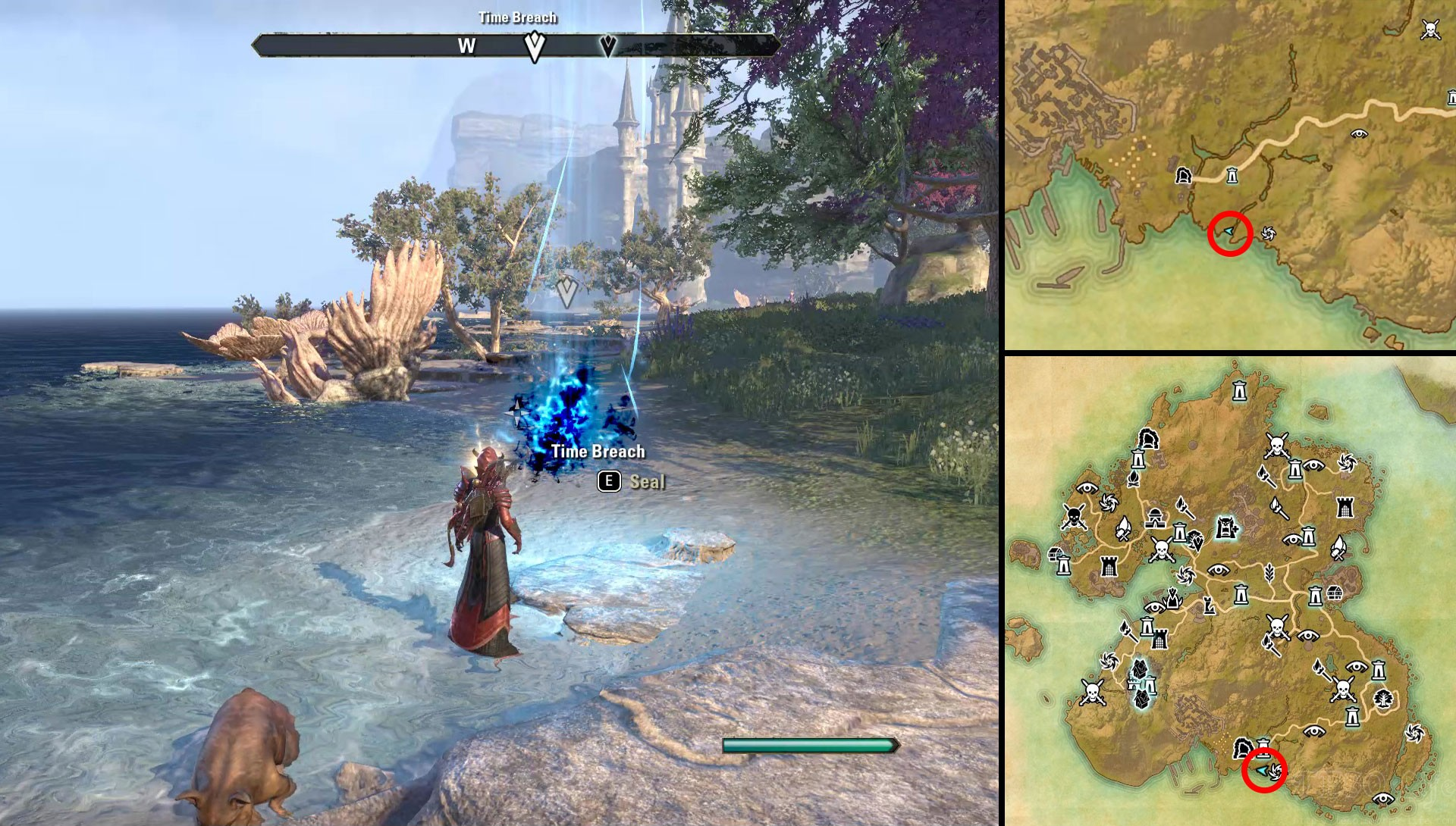 ESO Summerset Seal Time Breach on Summerset