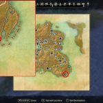 summerset treasure map location cliff tower