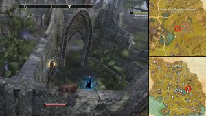 ESO a Breach Amid the Trees Valenwood Time Breach Locations