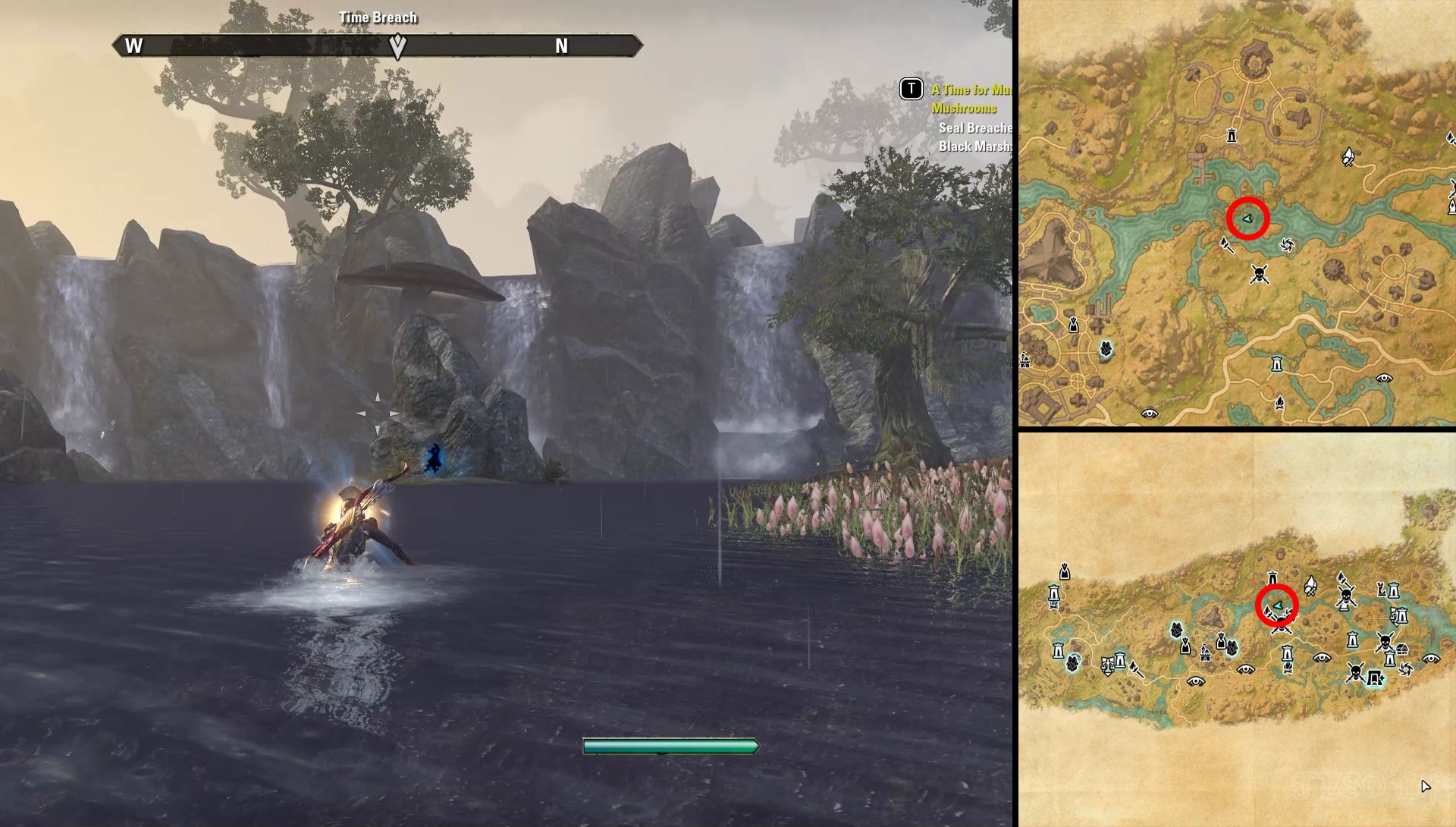 ESO Black Marsh Deshaan Seal Breach Locations