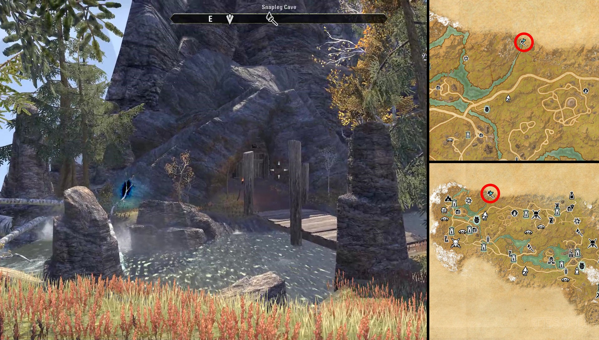 ESO Rift Time Breach Locations Breaches of Frost and Fire Quest