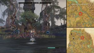ESO Shadowfen Seal Breach Location Black Marsh