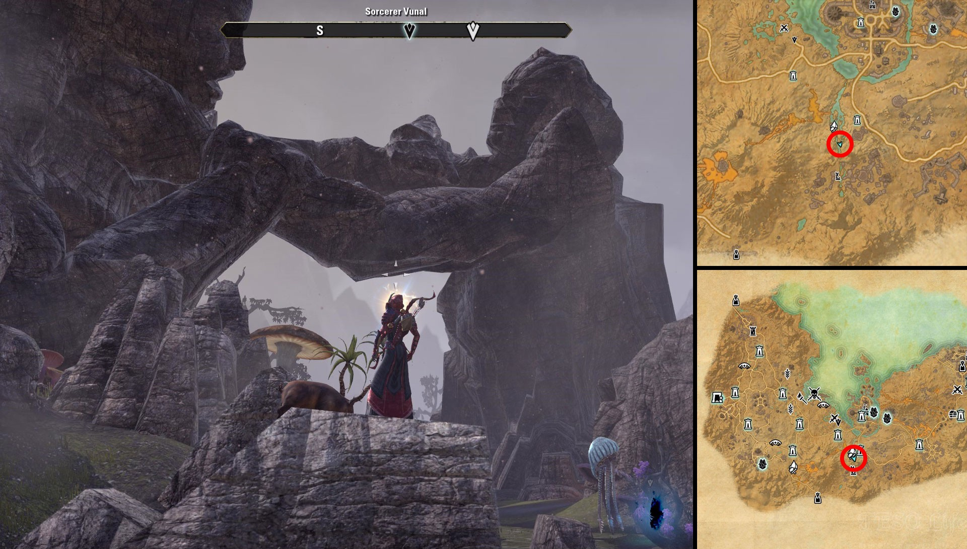 ESO Summerset Stonefalls Breach Location Frost and Fire Quest