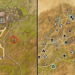 ESO Elsweyr Treasure CE Map III Hidden Chest Map Location