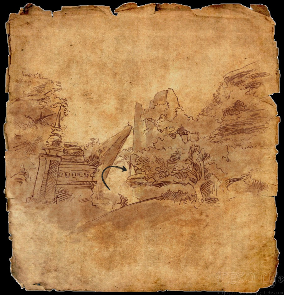 ESO Northern Elsweyr CE Treasure Map I