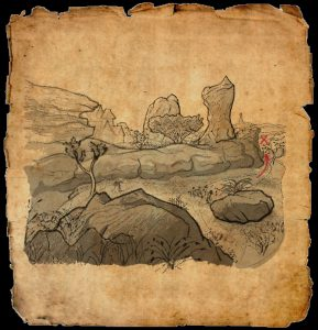ESO Northern Elsweyr CE Treasure Map II