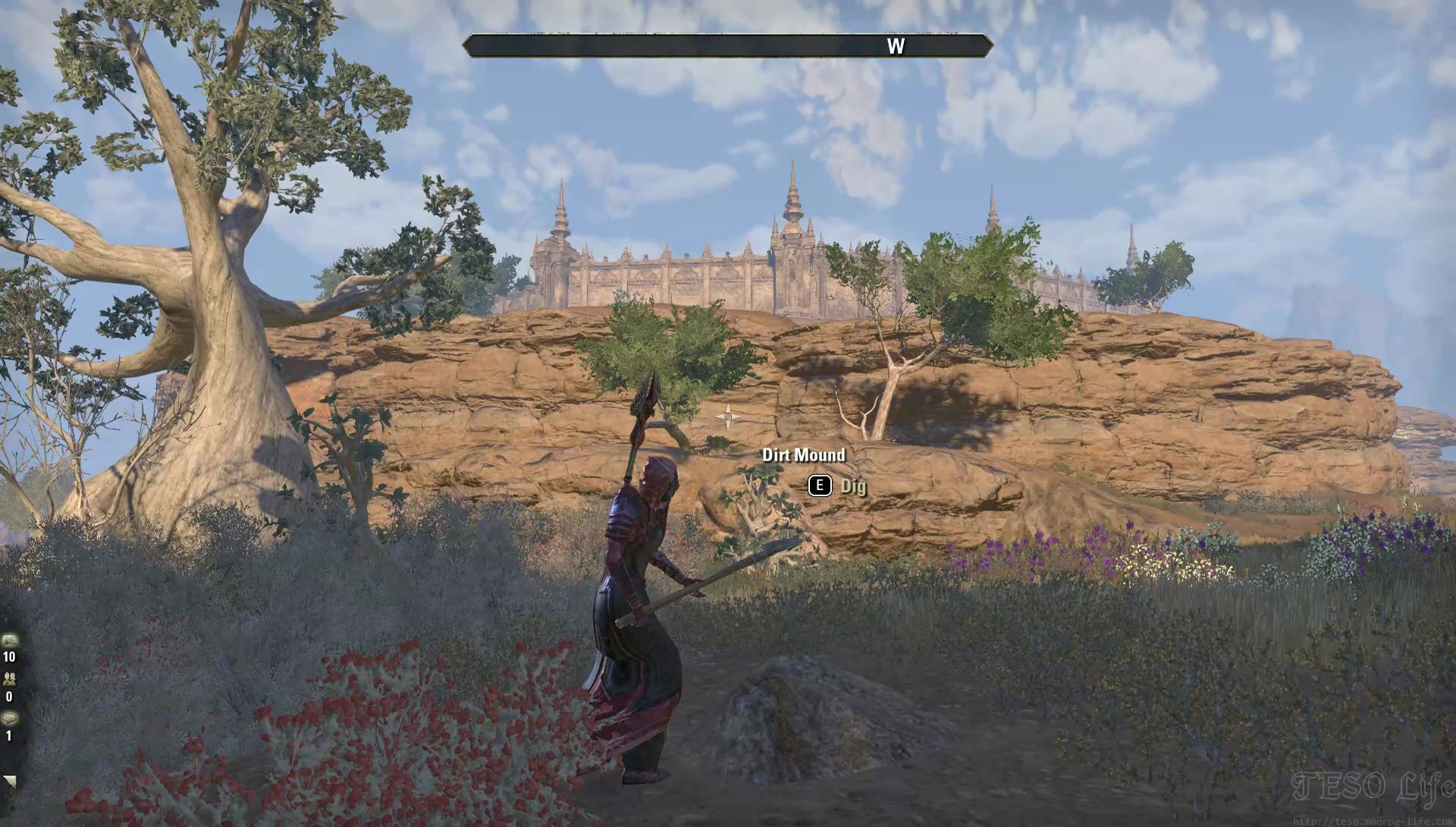 ESO Northern Elsweyr Treasure Map 1 Dig Mound Spot