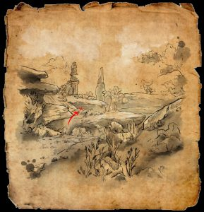 ESO Northern Elsweyr Treasure Map I