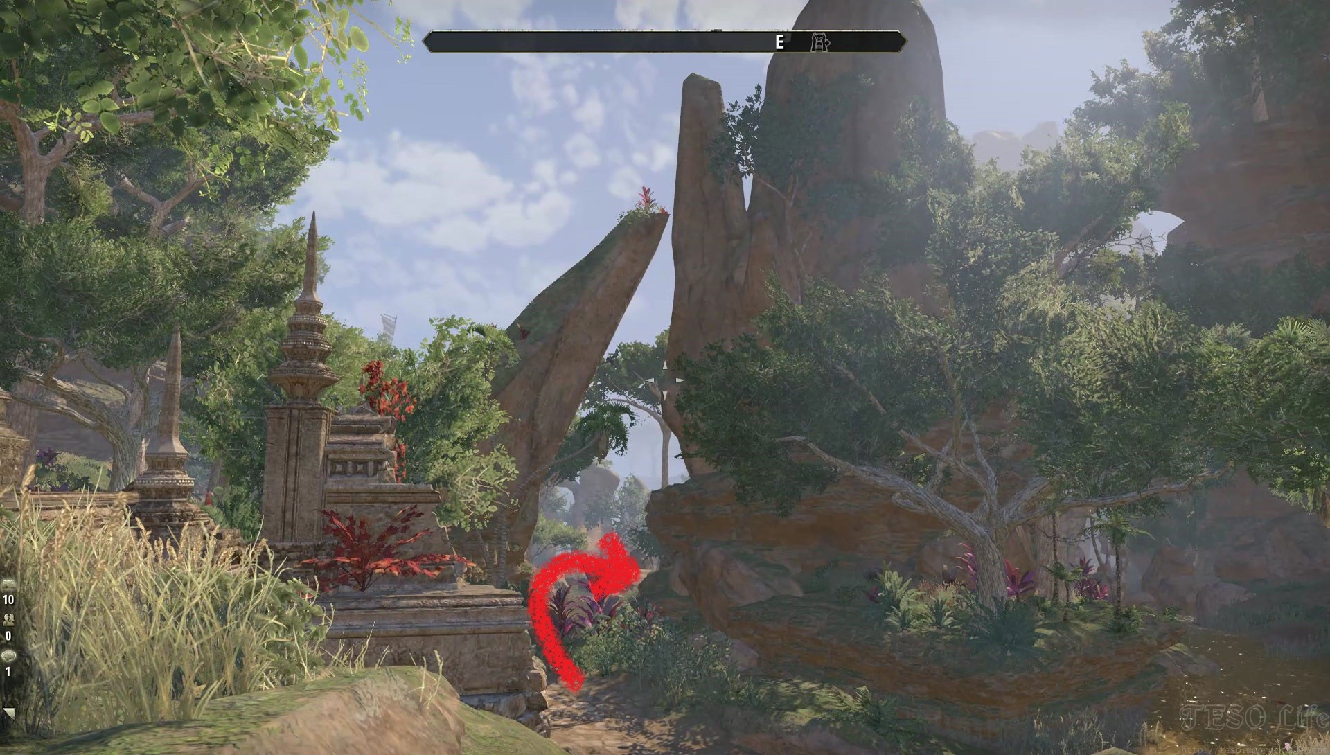 ESO Northern Elsweyr CE Treasure Map 1 Location