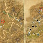 Elsweyr Treasure Map 2 Exact Map Location TESO