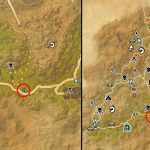 TESO Elsweyr Treasure Map V Map Location of Hidden Chest