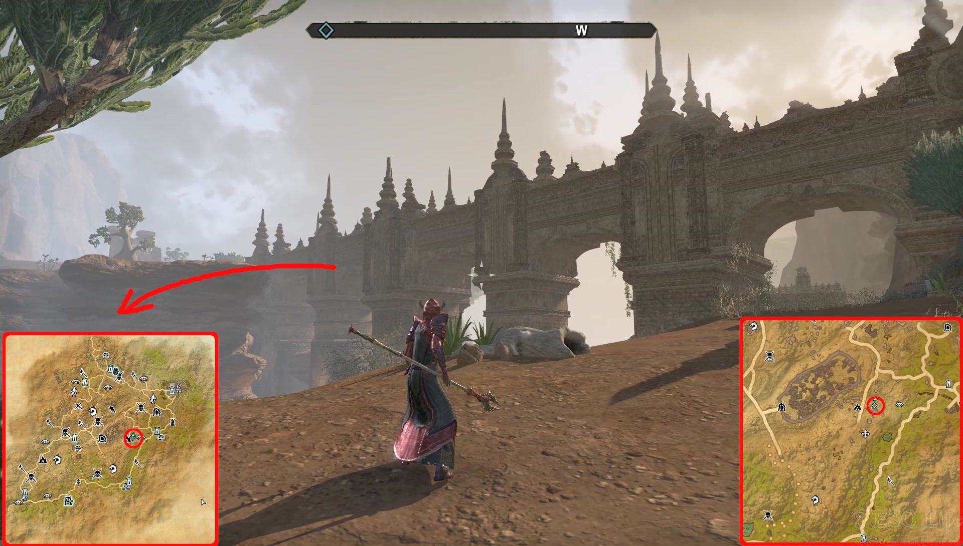 eso corinthe fragment location
