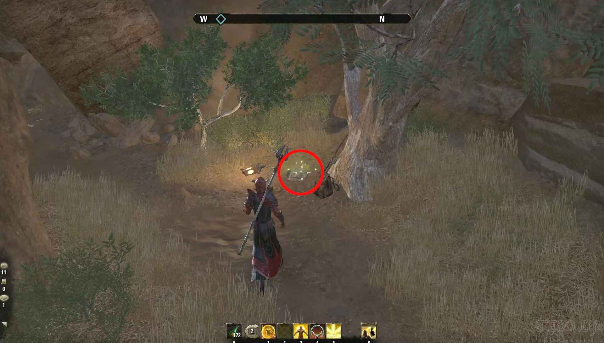 eso meirval fragment location