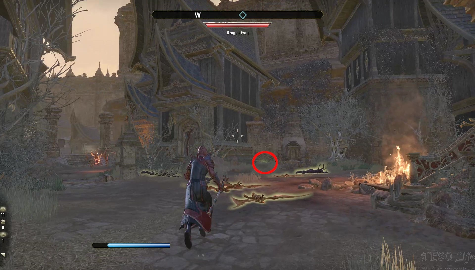 eso orcrest fragment location