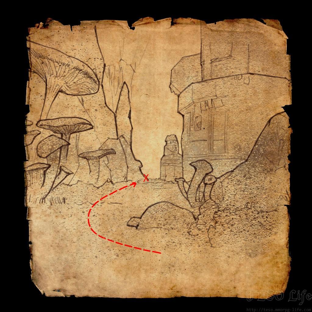 ESO Blackreach Greymoor Caverns Treasure Map 1