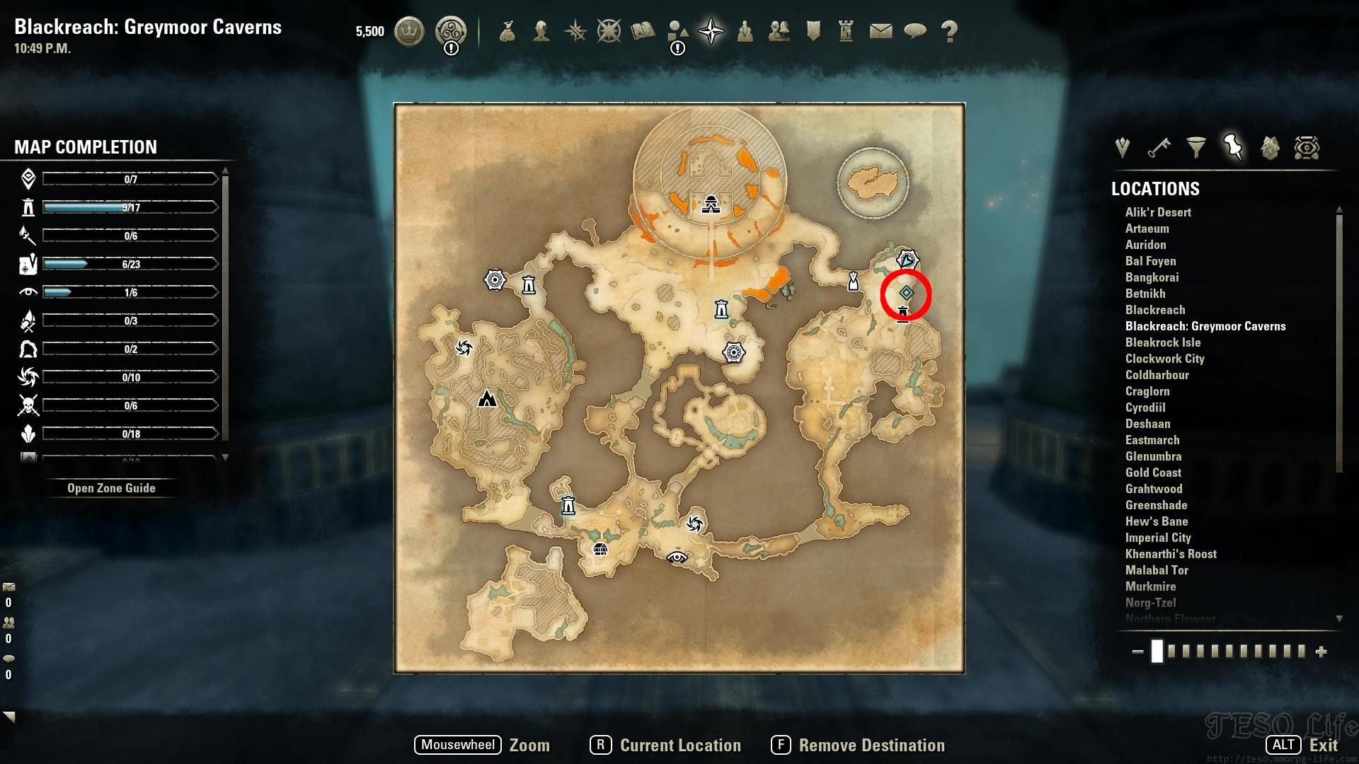 eso adanzda sample where to find