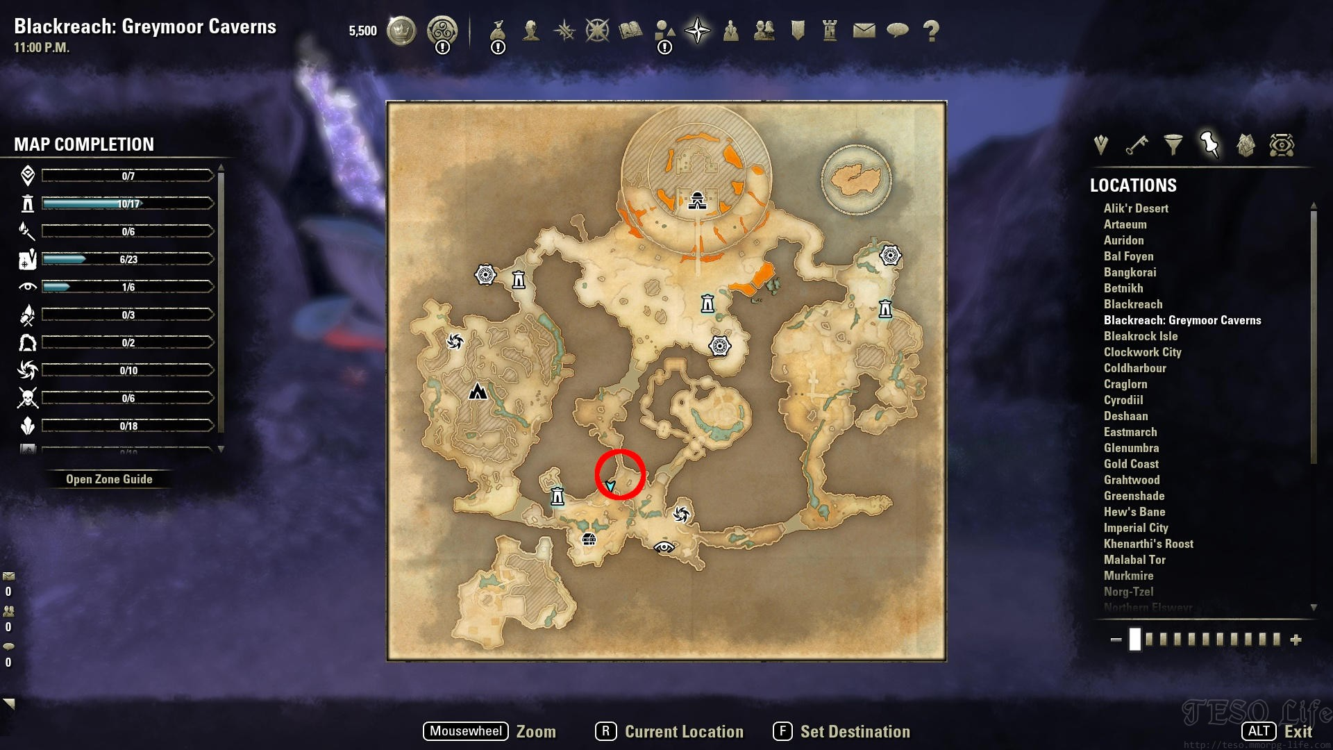 eso ghamborz's sample where to find
