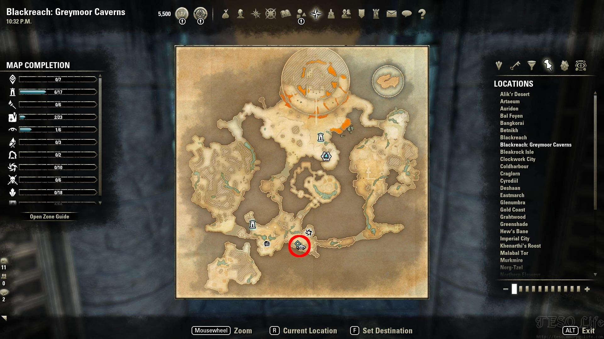 eso kelbarn's sample where to find