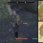 ESO BLackwood CE Treasure Map II Between a large tree and some Ruins