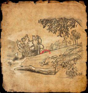 ESO Blackwood CE Treasure Map III
