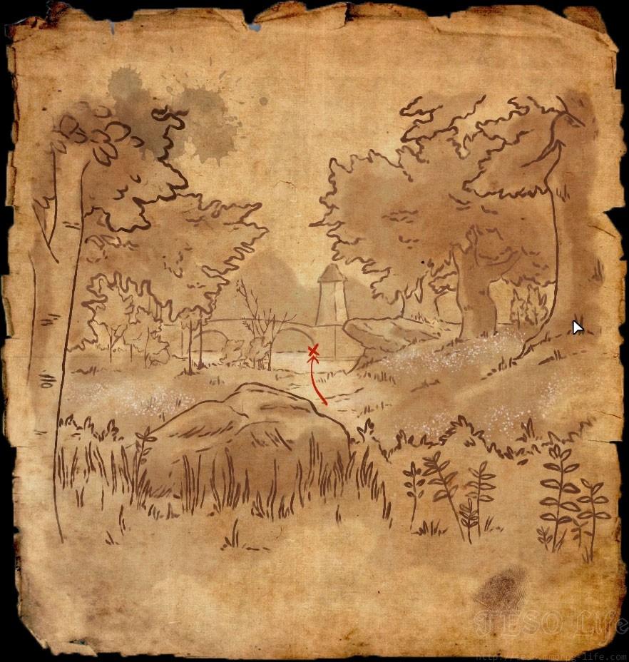 ESO Blackwood Treasure Map VI